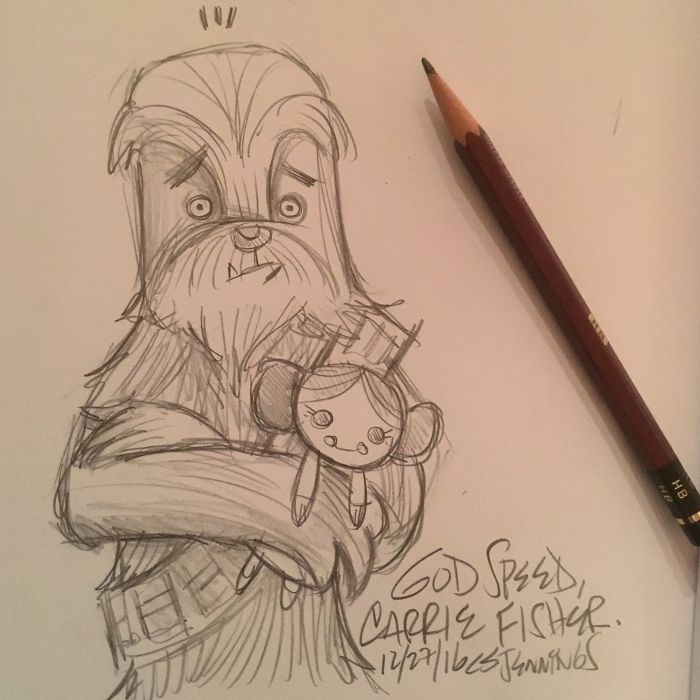 Chewie And The Princess