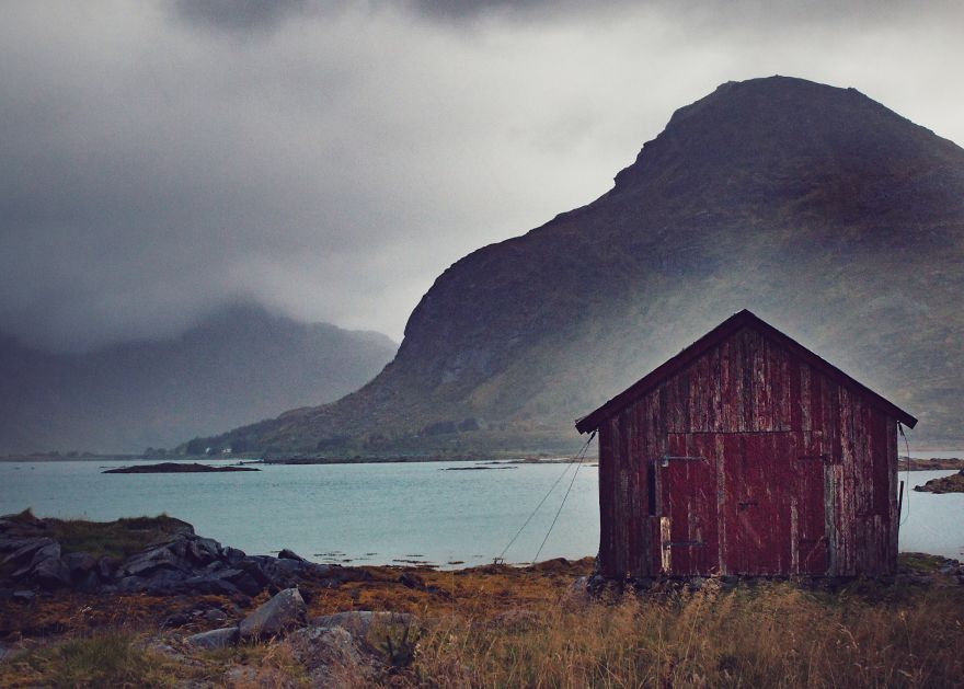 I Documented The Abandoned Houses Above The Arctic Circle