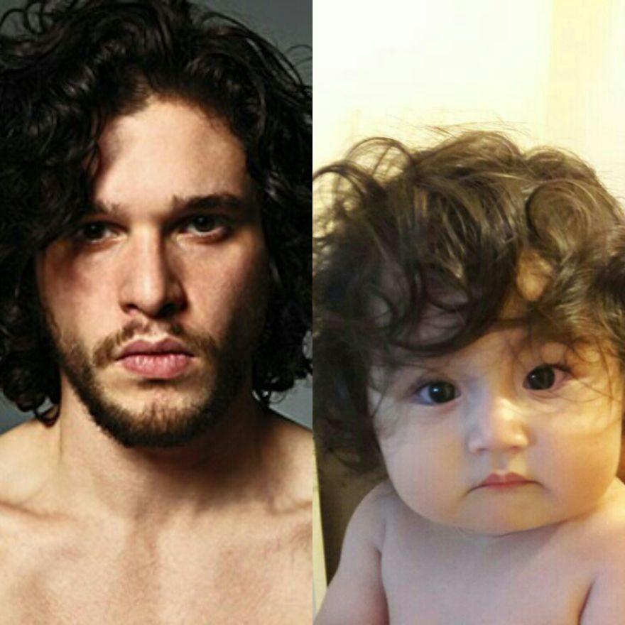 Jon Snow As A Baby