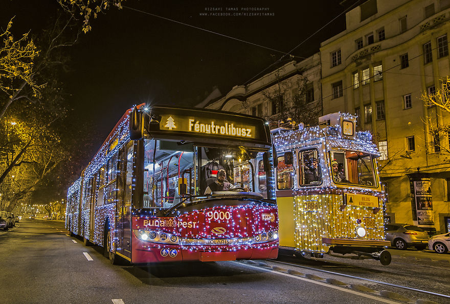 I Photographed The Magical Atmosphere Of Christmas In Budapest