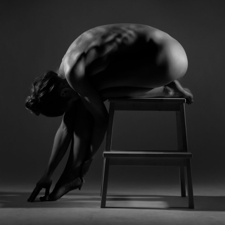 Stunning Black And White Fine-art Nude Photography 'bodyscapes' (nsfw)