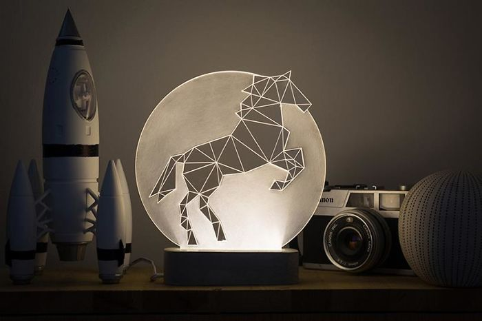 Horse Lamp, Full Moon Collection