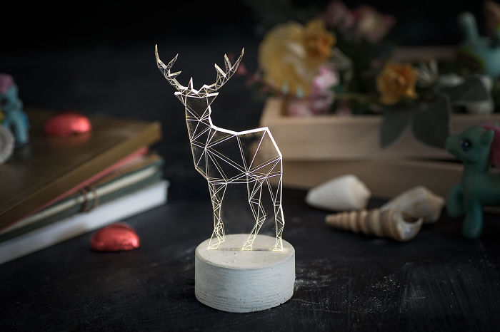 Deer Lamp, The Zoo Collection