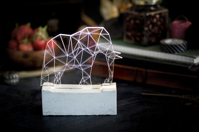 Elephant Lamp, The Zoo Collection