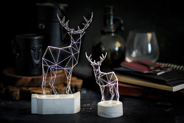 Deer Lamps, The Zoo Collection