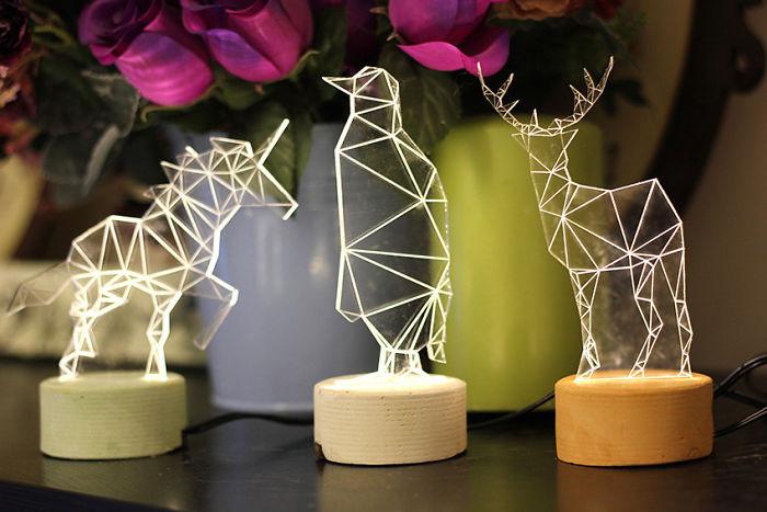 Animal Night Light Gift Set
