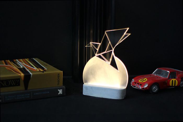 Large Modern Bird Lamp