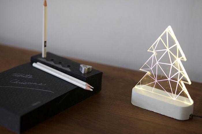Modern Christmas Tree Lamp