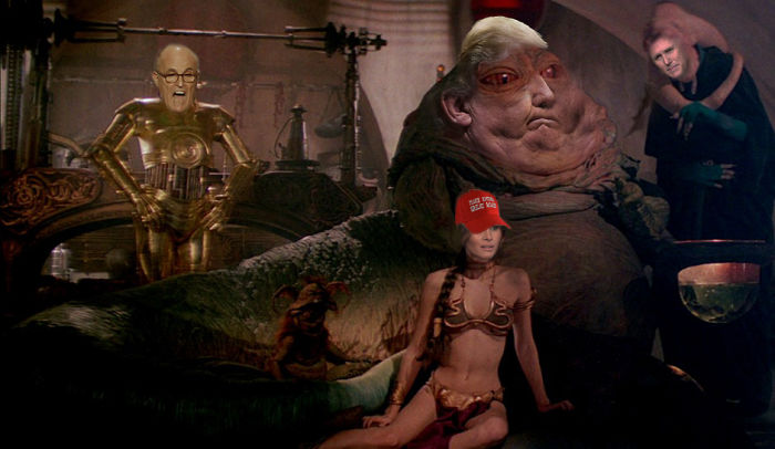 Chillaxin' With The Posse – Trump Plaza, Dune Sea, Tatooine