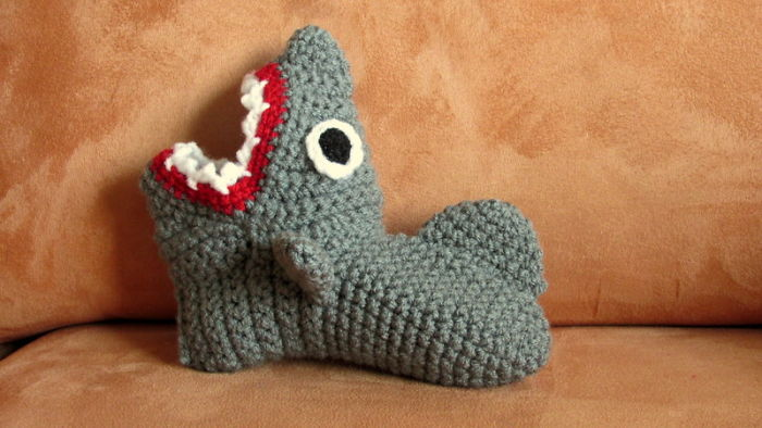 Childrens Shark Slippers Cuties :)