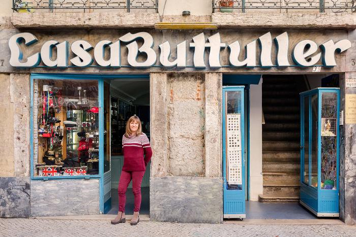 Maria Da Conceiçao Bulhões Lampreia Hears A Lot Of Stories As Manager Of A Historic Military Uniform Shop