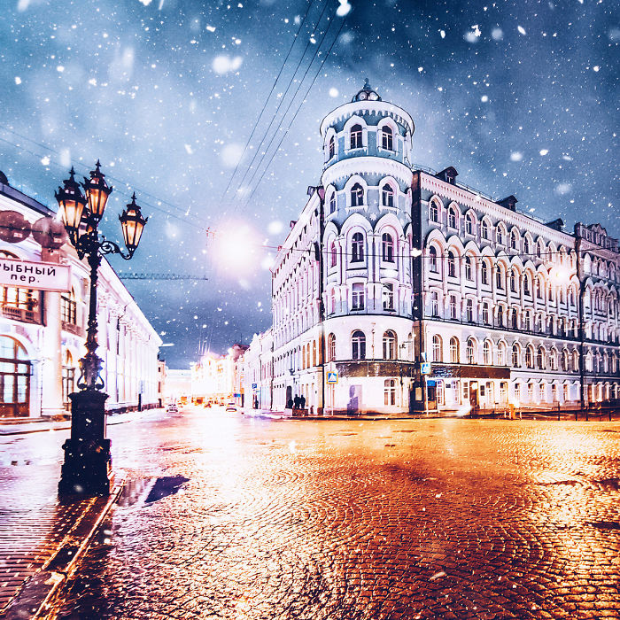 Magic Time In Moscow