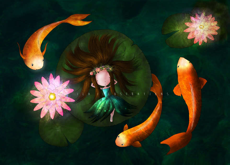 Lady And The Lilies