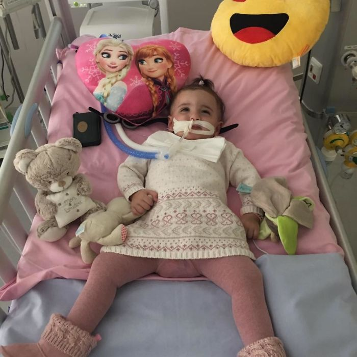 One Year Old Wakes Up From Medical Induced Coma Just Before Being