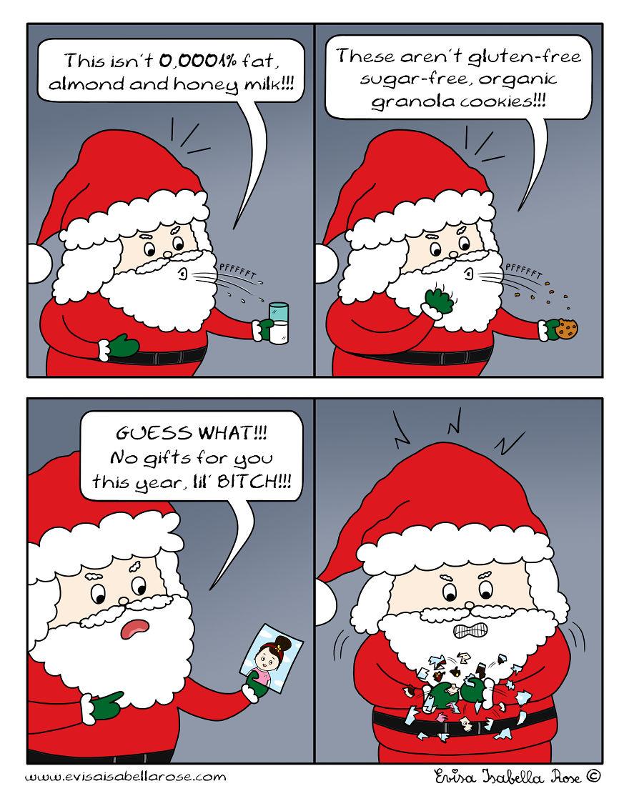 Modern Santa