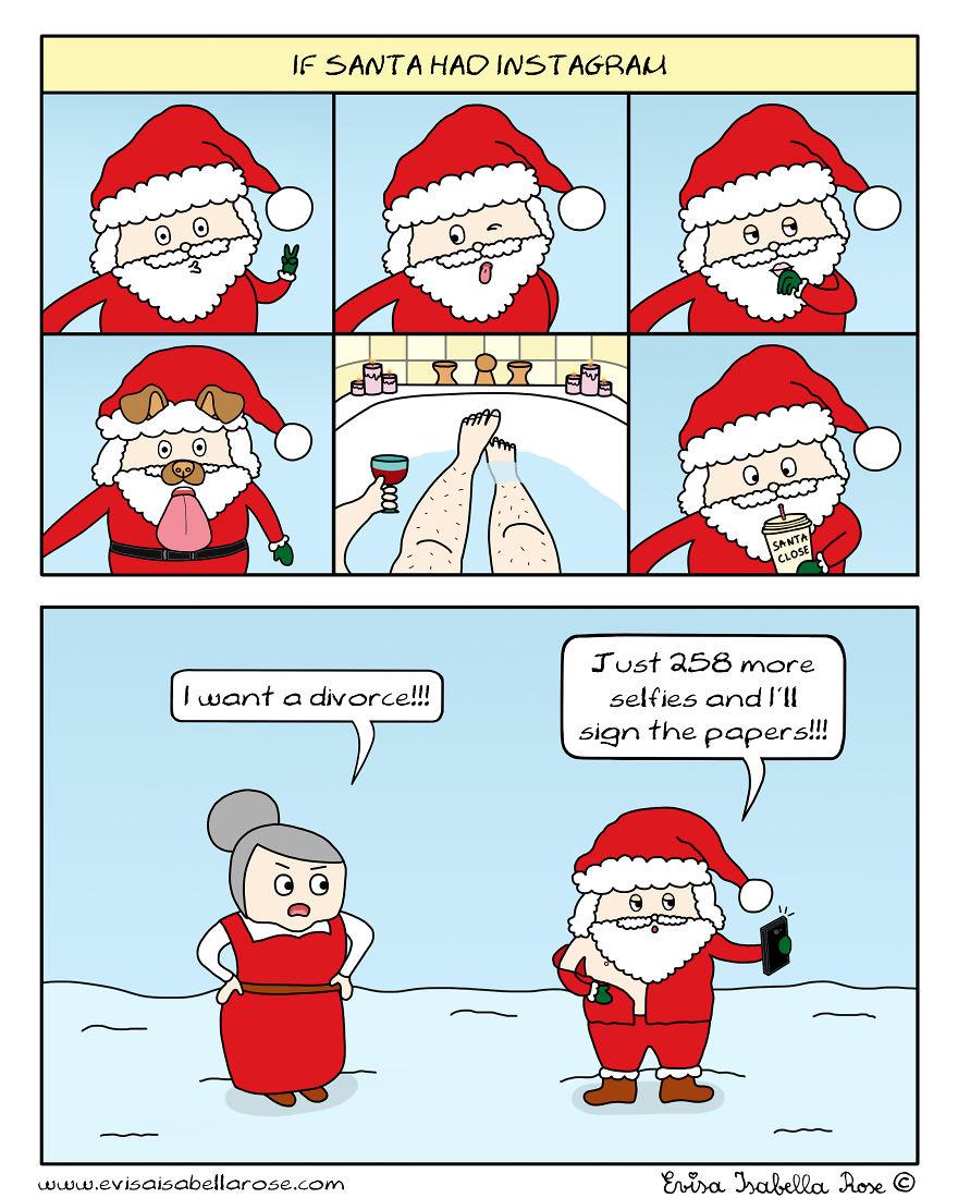 If Santa Had Instagram