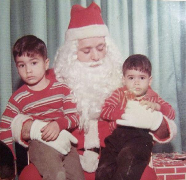 Uhhh… Santa, Watch That Hand