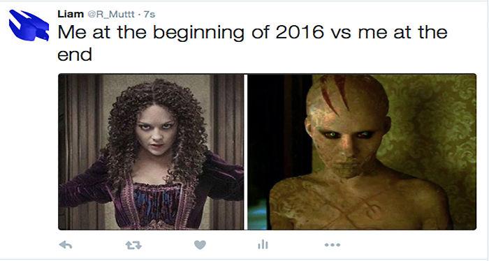 2016 Beginning Vs End