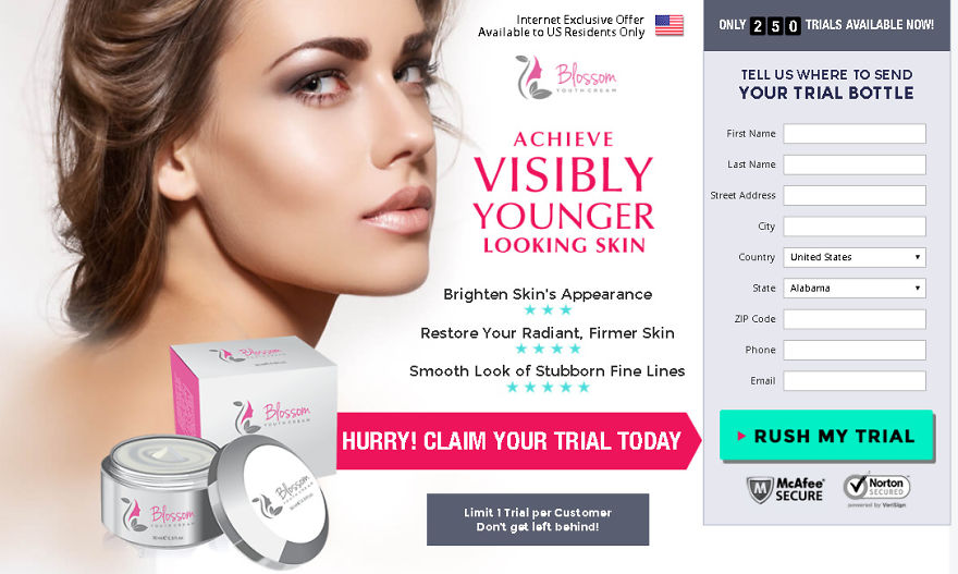 Http://supplementscart.com/blossom-youth-cream/
