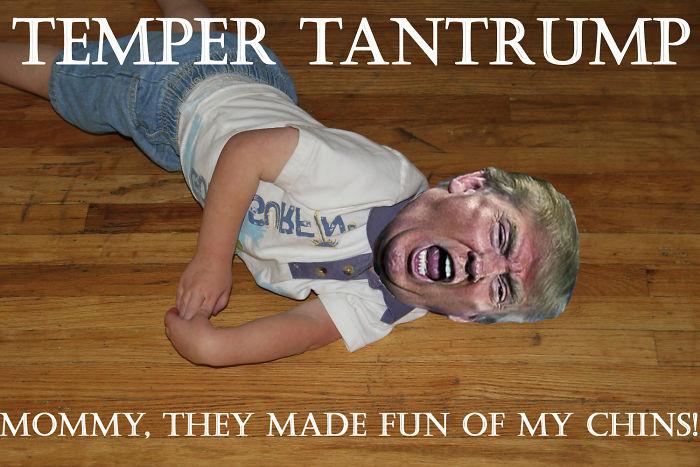Temper Tantrump