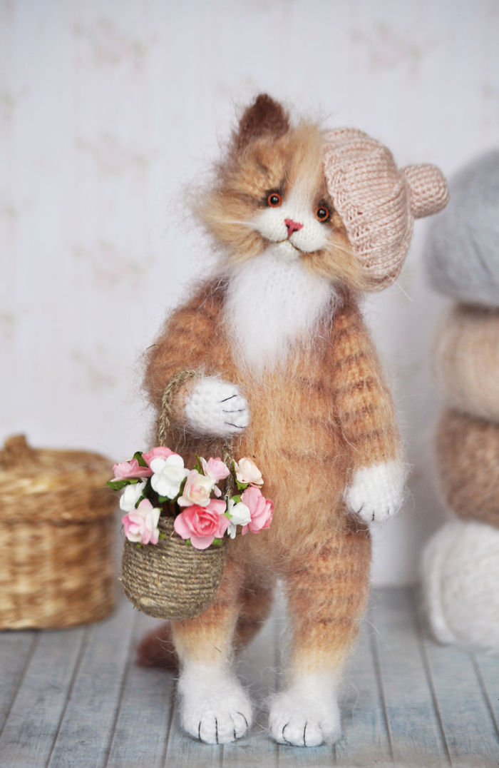 Touching Mohair Collectibles: Adorable Fluffies By Olga Besogonova