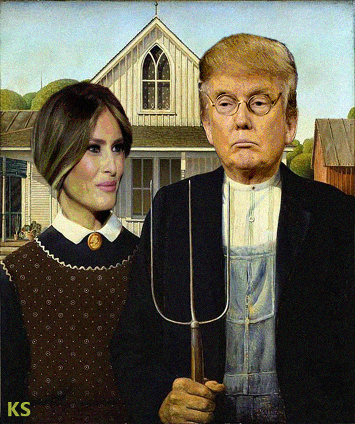 American Great Gothic Again