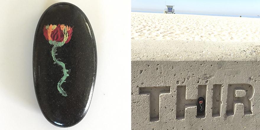 Left At Hermosa Beach In California