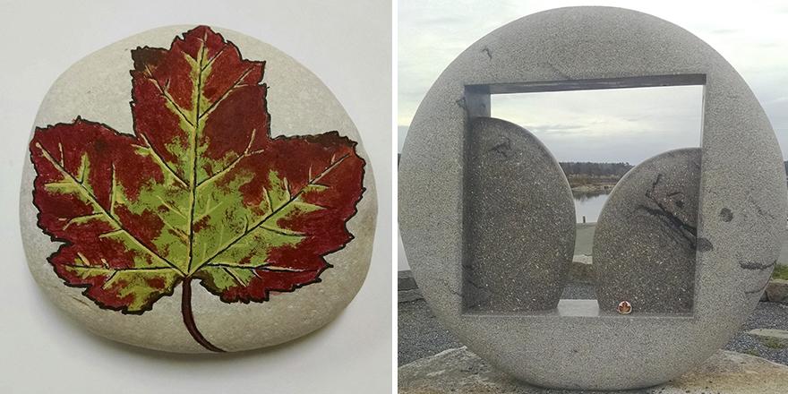 Left At Horton Emerson Park Sculpture In Maine