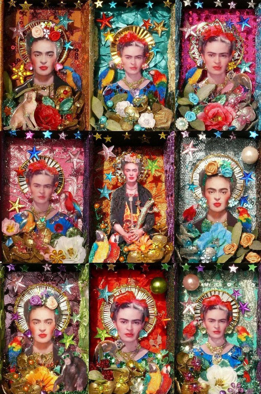 Frida Kahlo X 9
