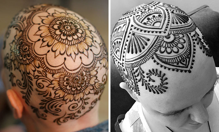 Artist Who Lost Her Stepfather To Cancer Is Now Making Free Henna Crowns For Cancer Patients