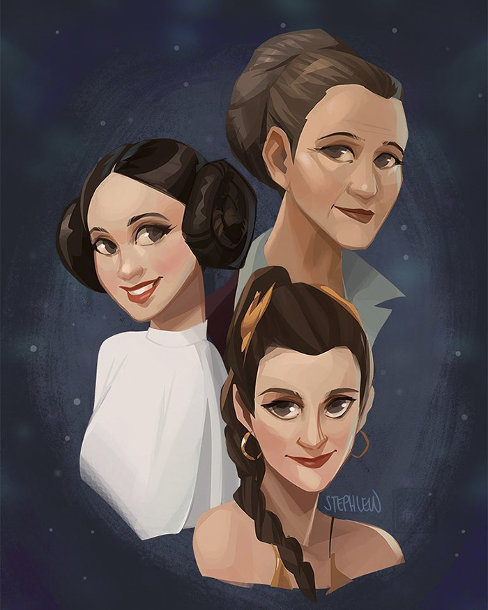 Rip Carrie Fisher. May The Force Be With You