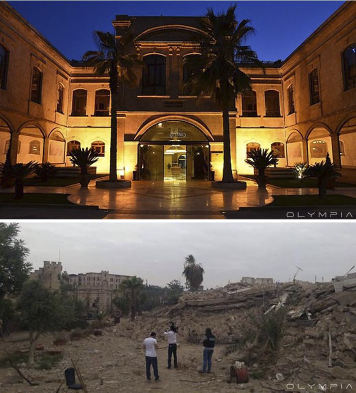 15 Desgarradoras fotos antes y después en Alepo muestran lo que la guerra ha hecho a la mayor ciudad de Siria