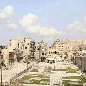 10+ Before & After Pics Of Aleppo Reveal What War Did To Syria's Largest City
