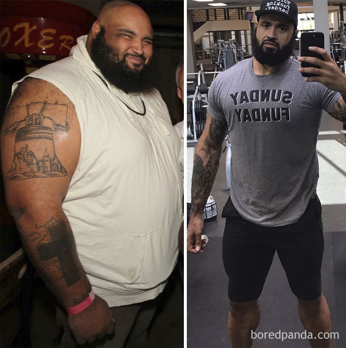 340 Lbs Weight Lost In 3 Years