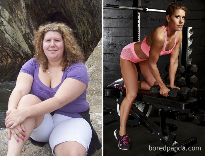 Donna Lost 112 Lbs In Two Years And Became A Fitness Model