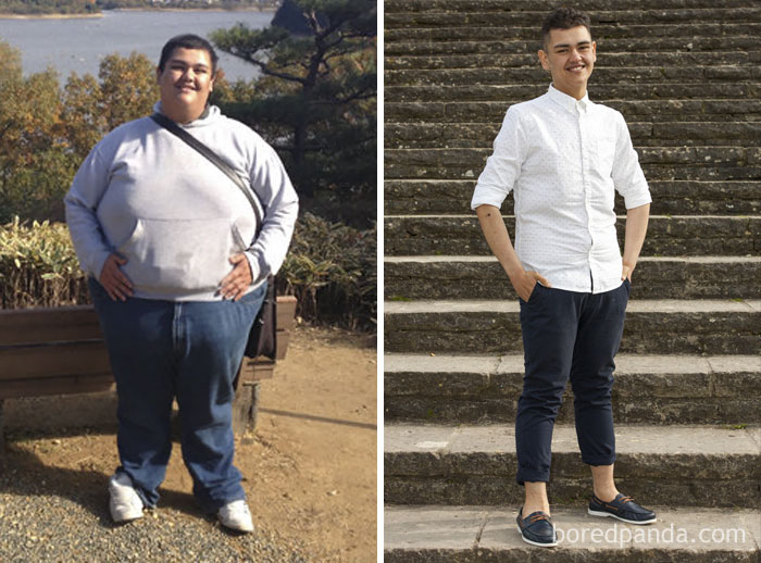 Oliver Lost 350 Lbs In Two Years