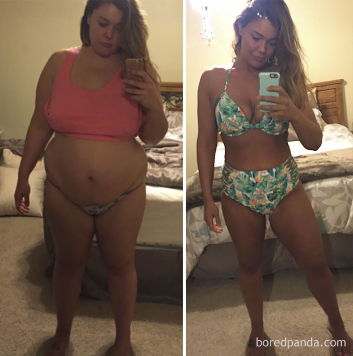 Mother Of Two Lost 88 Lbs In Just One Year