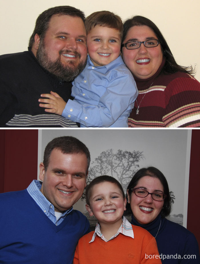 The Christmas Card Lost 350 Lbs
