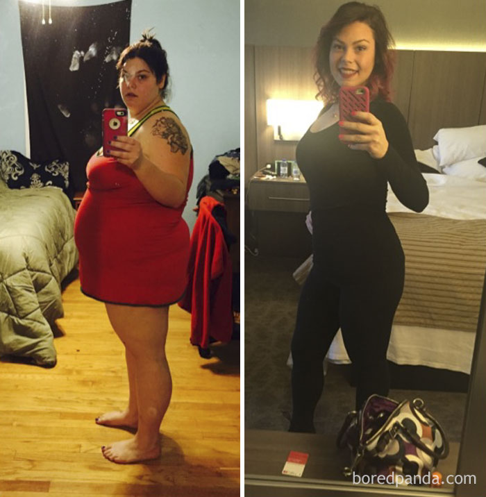 My Girlfriends Weight Loss Transformation, Down 142 Lbs Over 1 Year