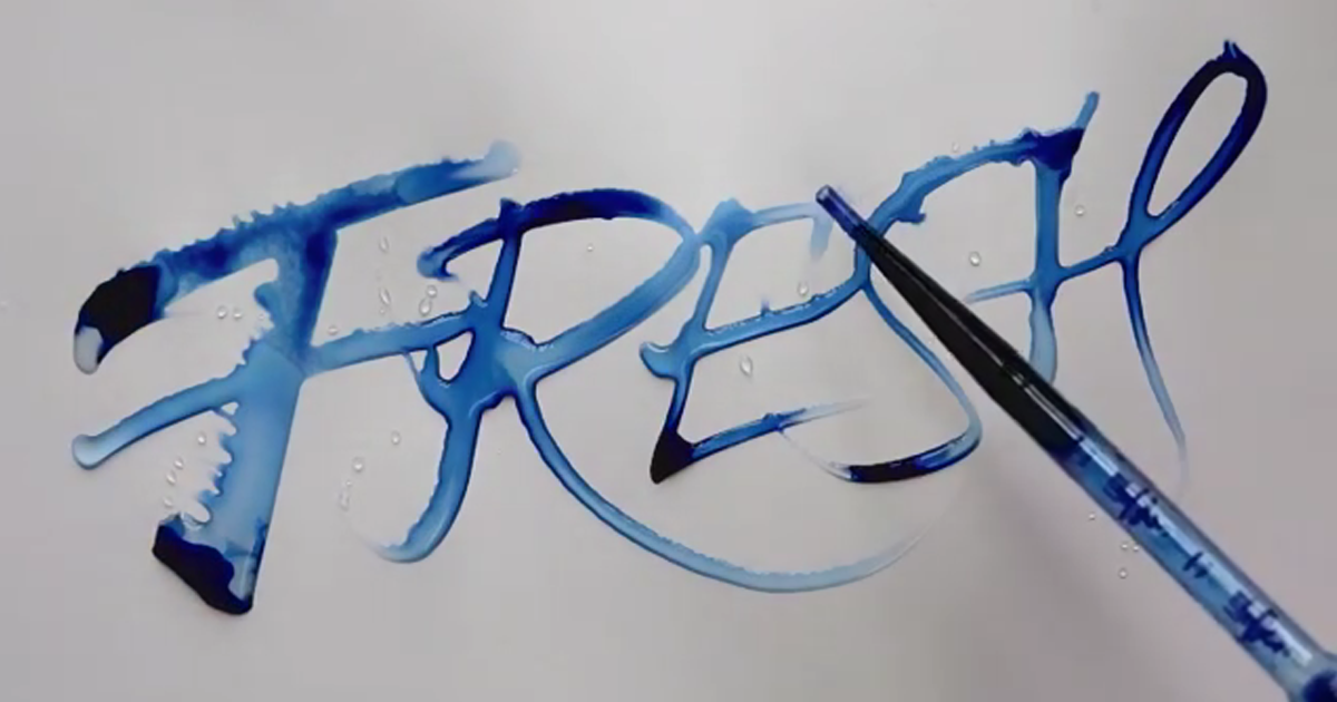 Oddly Satisfying Calligraphy By Seb Lester Bored Panda