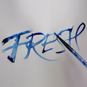 Oddly Satisfying Calligraphy By Seb Lester