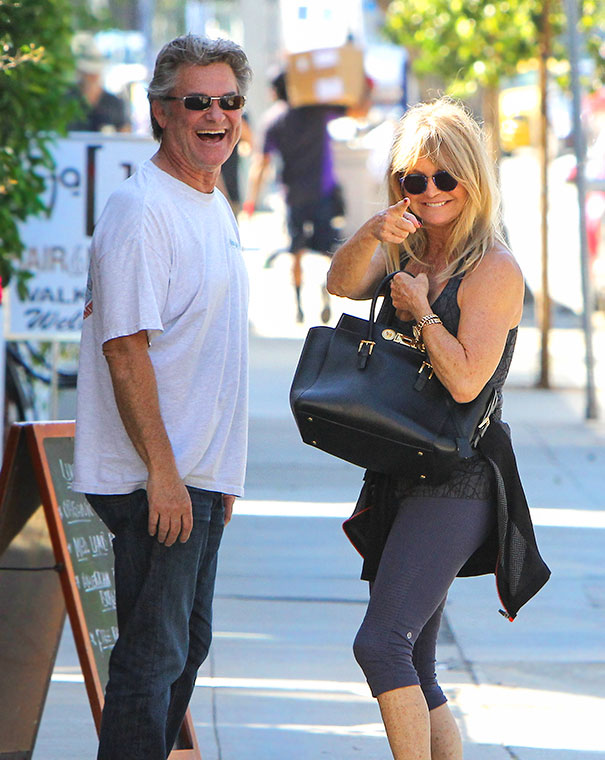 Kurt Russell And Goldie Hawn