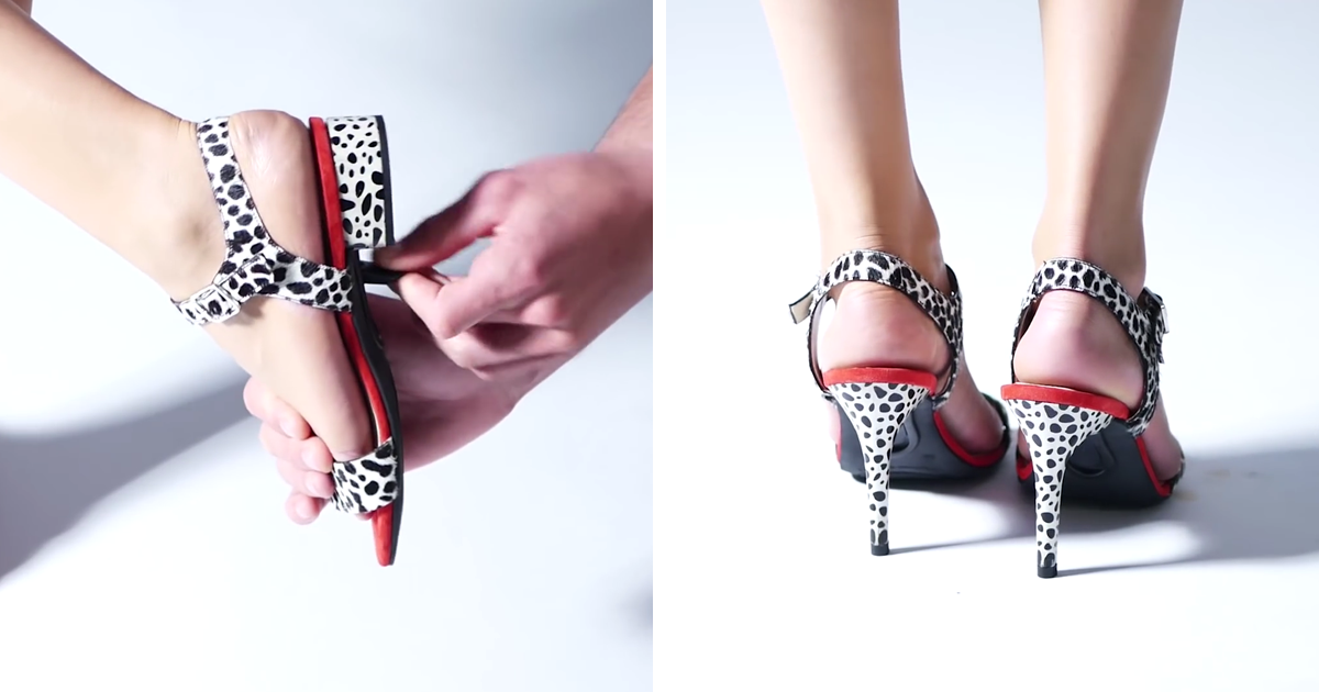 These Shoes Have Changeable Heels