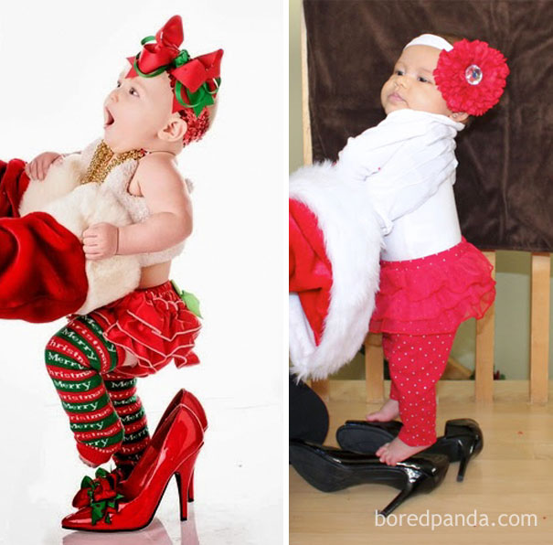 Diy Christmas Holiday Card. Nailed It