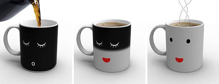 A Mug That Changes Design When You Add Hot Coffee