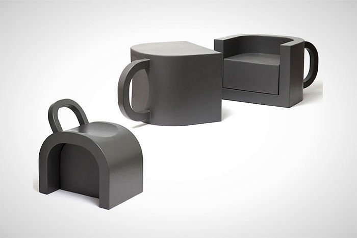 Coffee Cup Shaped Chairs