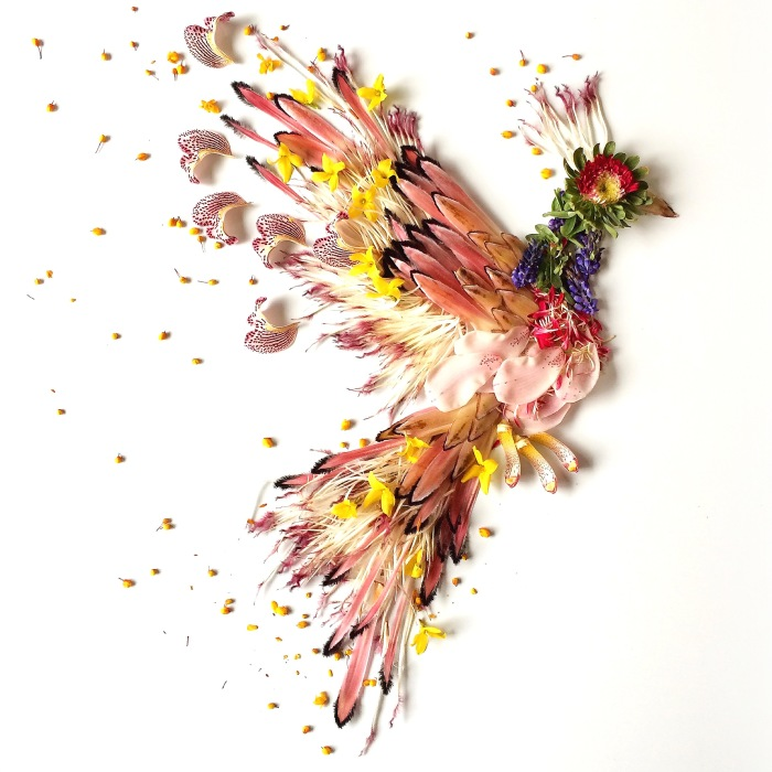 This Artist Turns Flowers Into Paintings
