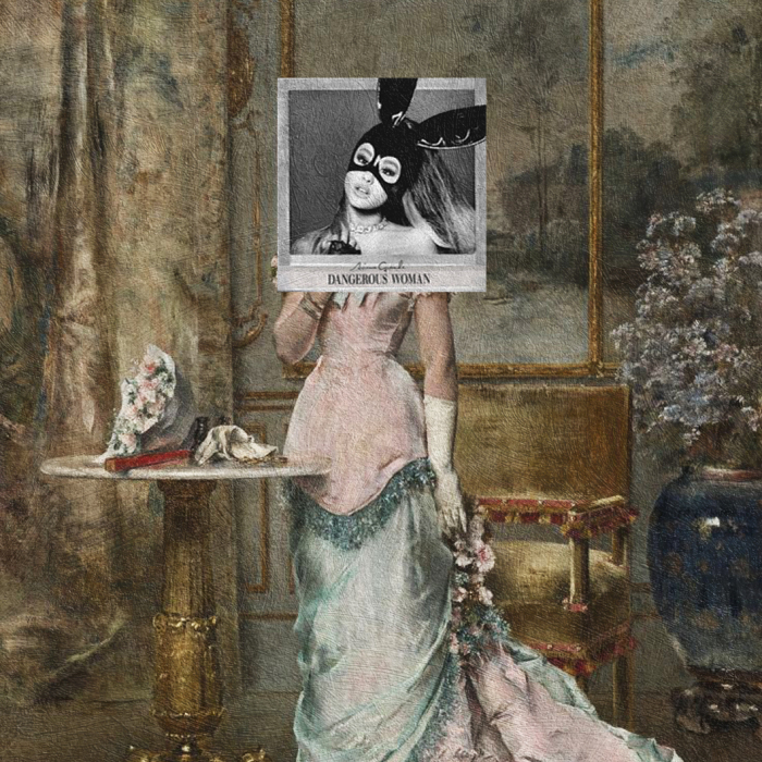 I Combine Album Covers With Classical Paintings As A Tribute To Our Favourite Music Of 2016