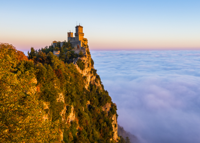I Timelapsed One Of The Most Wonderfull Scenes I Have Ever Witnessed In San Marino!