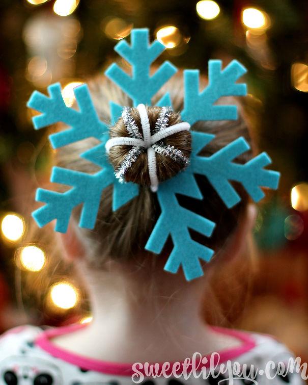 Snowflake Bun